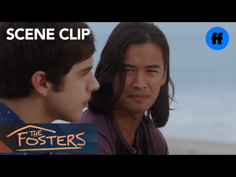The Fosters | Season 3, Episode 12: Brandon And Mat At The Beach | Freeform
