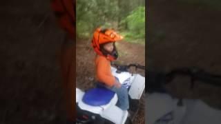 7. Kid jumps YFZ50