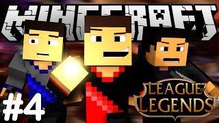 Minecraft: League of Legends - Ep. 4 - MLG TEAMWORK!!! w/Vikkstar123 (Defend the Essence Mini Game)