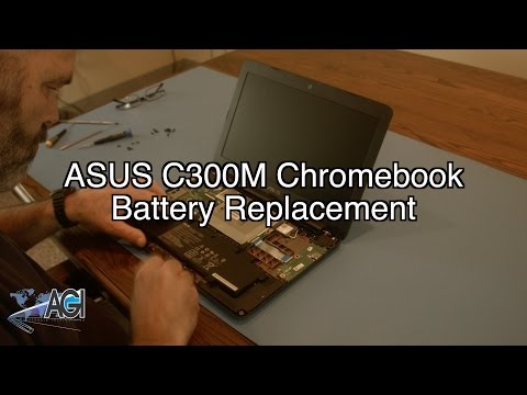 ASUS C300M Chromebook Battery Replacement