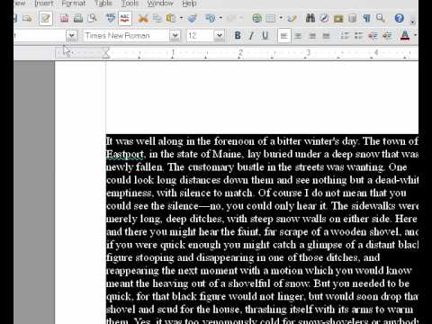 Text Layout for Self Publishing in OpenOffice.org – Part 2