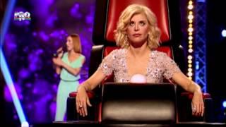 Aliona Munteanu - Halo (Beyonce) - Vocea Romaniei 2014 - Auditii pe nevazute Ep. 3