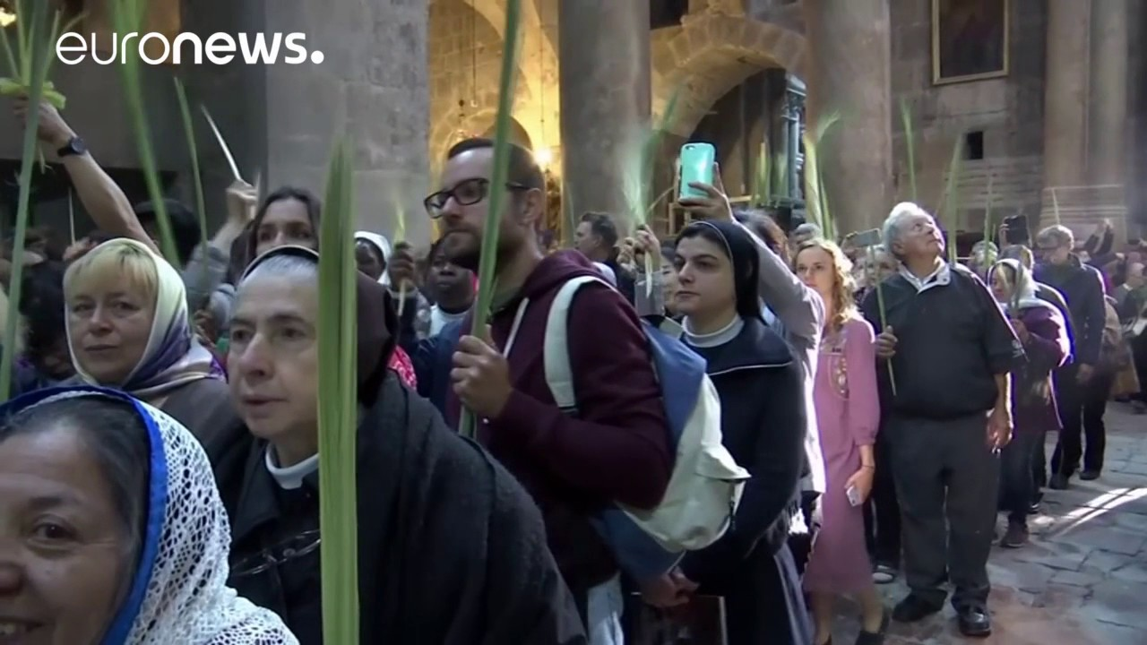 Η Κυριακή των Βαΐων στην Ιερουσαλήμ