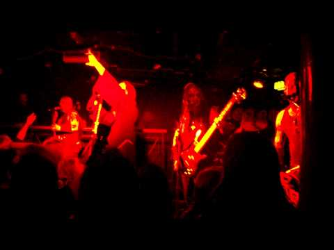Horna - Kuoleva Lupaus @ London 22/03/10 online metal music video by HORNA