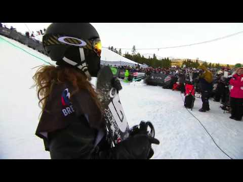 Shaun White WInning Run – Winter Dew Tour Nike Open Snowboard Superpipe Finals