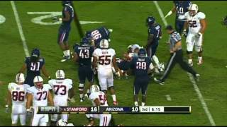 Stepfan Taylor vs Arizona and Washington (2011)