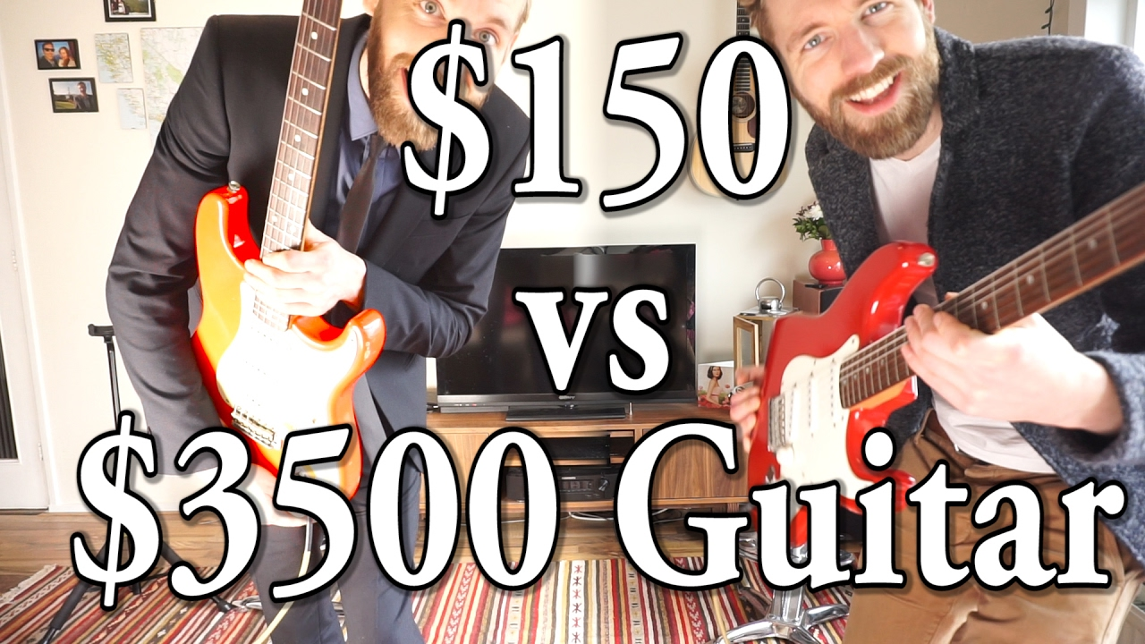 150$ vs 3500$ Guitar | Fender Custom Shop USA vs Squier China