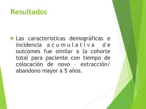 Resultados asociados con la extracción vs abandono de cables. Dr. Alejandro Kim. Residencia de Cardiología. Hospital C. Argerich. Buenos Aires
