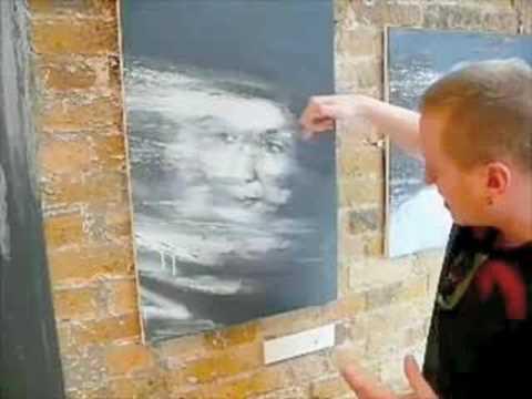 Artist Dale Grimshaw talks