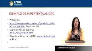 UTPL LA COMUNICACIÓN DIGITAL [(COMUNICACIÓN SOCIAL)(INTRODUCCIÓN A LA COMUNICACIÓN)]