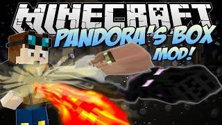 Minecraft | PANDORA'S BOX MOD! (Hundreds of Random Happenings!) | Mod Showcase [1.7!]