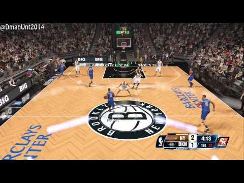 nba 2k14 playstation 4 gameplay