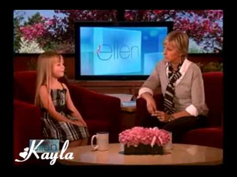 Connie Talbot Singing On Ellen