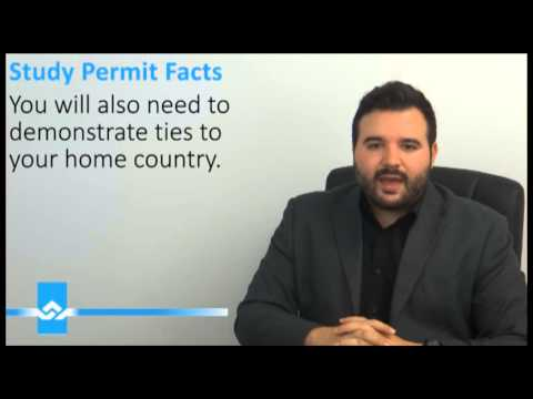 Canadian Study Permit Facts Video