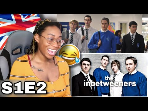 AMERICAN REACTS TO THE INBETWEENERS SEASON 1 EP 2| Favour