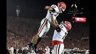 #3 Georgia vs #2 Oklahoma   2018 Rose Bowl Game Highlights