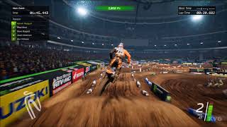 Monster Energy Supercross - Atlanta (Georgia Dome) - Gameplay (PC HD) [1080p60FPS]