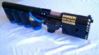More info: http://deltaveng.com A coilgun fires a projectile with magnetic force instead of gunpowder. The projectile from this gun ...