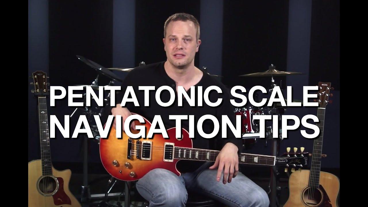 Pentatonic Scale Navigation Tips – Lead Guitar Lesson