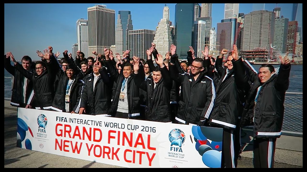 FIFA INTERACTIVE WORLD CUP FINAL IN NEW YORK CITY!