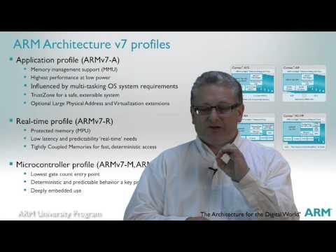 The ARM University Program, ARM Architecture Fundamentals