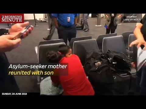 Asylum-seeker mother reunited with son