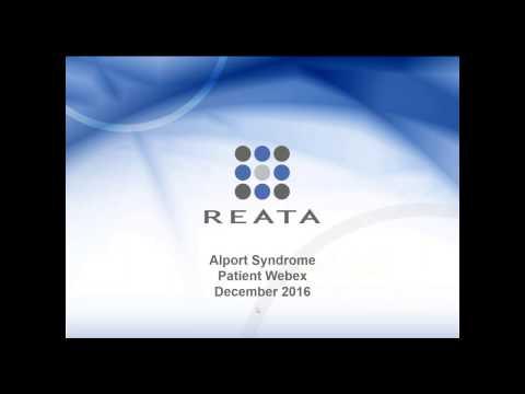 Alport Syndrome & Bardoxolone Methyl Webinar 12-12-16