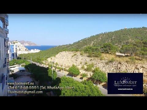 Аренда квартиры в тихом районе Бенидорма с видом на море и на сосновый заповедник в бухте Ла Кала