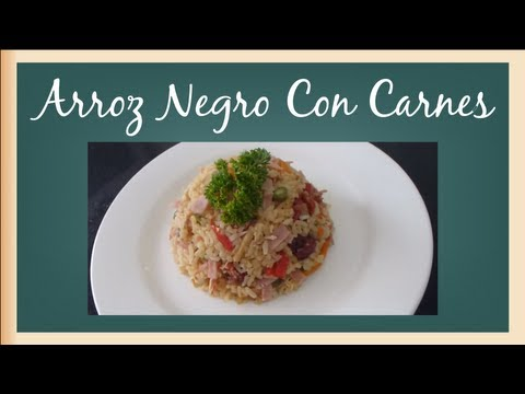 Arroz Negro Con Carnes Full HD