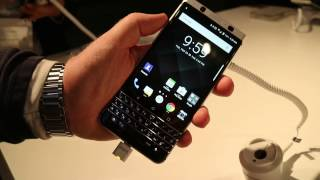 Anteprima BlackBerry KEYOne Android Nougat MWC 2017