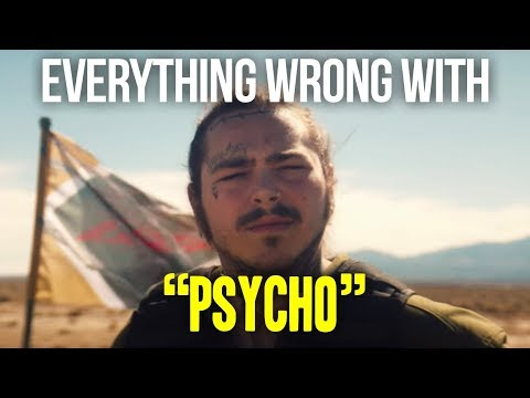 "Everything Wrong With Post Malone - ""Psycho"""