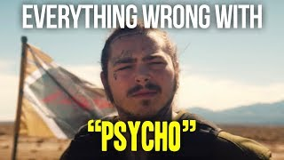 """Video Everything Wrong With Post Malone - """"Psycho"""" MP3, 3GP, MP4, WEBM, AVI, FLV Juni 2018"""