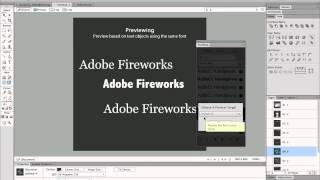 Playing with custom font with Fontshop panel