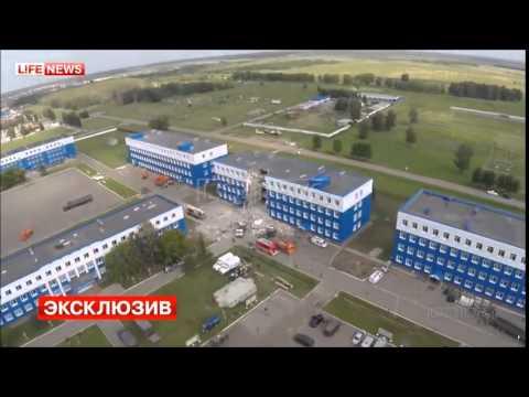 Обрушение казармы в Омске  Учебный центр ВДВ  12 07 2015г