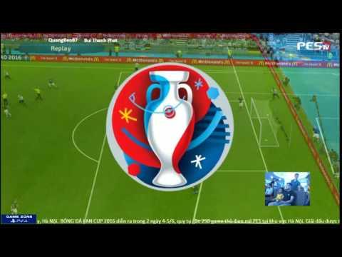 [PES 2016] Quangbeo87 vs [WHT] Bùi Thịnh Phát | BÓNG ĐÁ FAN CUP 2016 | Group C