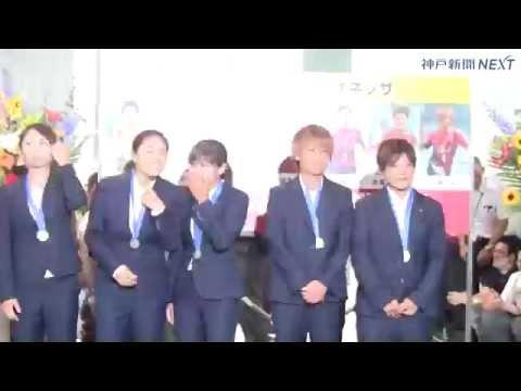 INAC神戸に市スポーツ特別賞