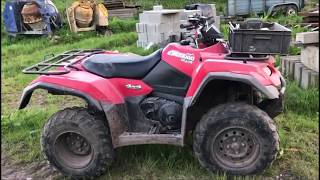 7. 2013 Suzuki Kingquad 400ASi 4x4 ATV [Review]