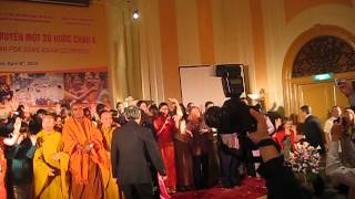 Ceremony Ending Of New Year Arts Exchange Between Cambodia, Lao, Thailand, India And Vietnam 2013