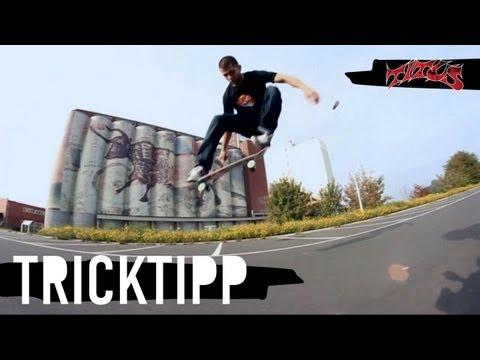 How to Ollie - einfach und schnell Skateboard Tricks lernen (deutsch/german)