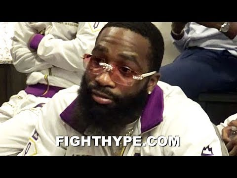 """I'D PROBABLY BE DEAD"" - BRONER GETS DEEP ON HOW MAIDANA LOSS SAVED HIS LIFE; HOPES HE COMES BACK"