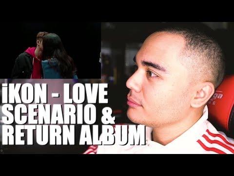 Video iKON - LOVE SCENARIO MV & RETURN Album Reaction download in MP3, 3GP, MP4, WEBM, AVI, FLV January 2017