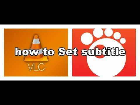 How to set subtitle for the GOM and VLC media player|| updated 2017||