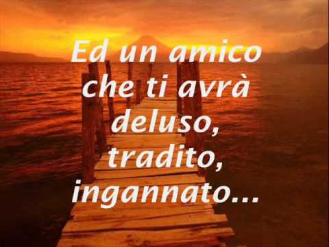 , title : 'Claudio Baglioni - Avrai (testo)'