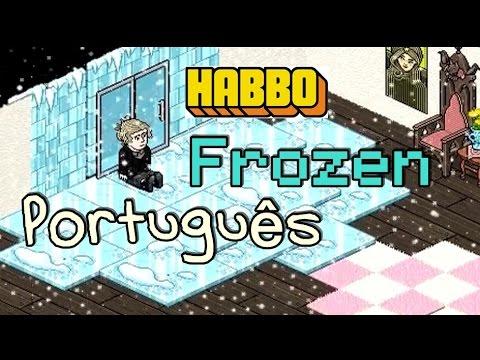 Habbo filme Frozen Português