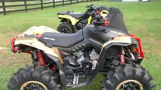10. 2019 Can Am Renegade 1000R Xmr and 2019 Outlander 570 Xmr