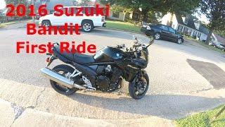 3. 2016 Suzuki Bandit 1250 First Ride