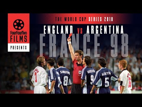 Argentina 2-2 England 1998 documentary | The Game | World Cup Series (видео)