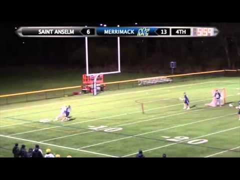 MLAX: Saint Anselm Highlights (4/29/14)