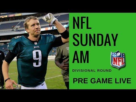 NFL Divisional Round Pre Game | Eagles vs Falcons & Titans vs Patriots