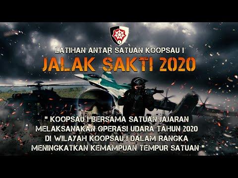 Demonstrasi Operasi Udara Gabungan TNI Angkatan Udara dengan Lembaga Pemerintah